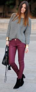 burgundy-calca