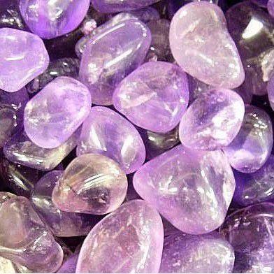 Conjunto de pedra ametista