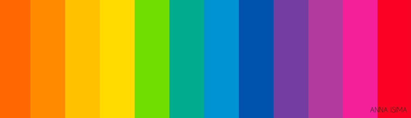 Nesta imagem temos a representação de uma barra cromática