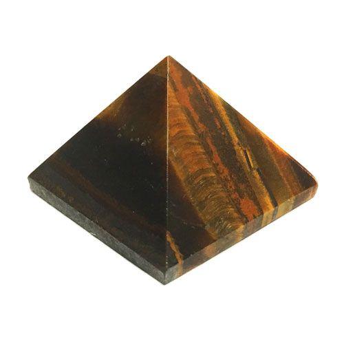 Olho de Tigre - pirâmide